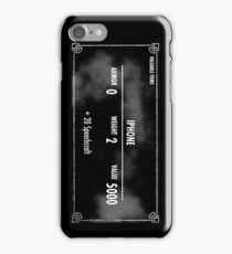 Valuable Items iPhone Case/Skin
