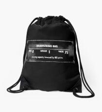 Valuable Items Drawstring Bag