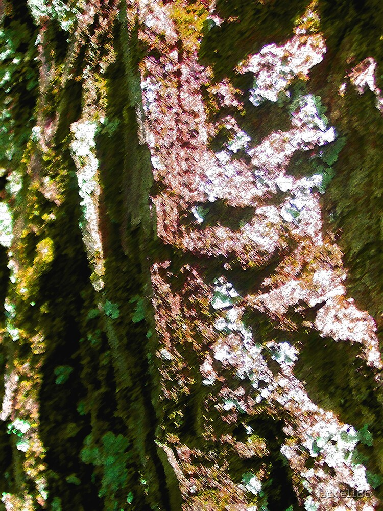 paint spattered tree by jackie1186