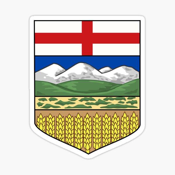 Alberta Coat of Arms, Canada Sticker