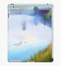 Morning Mist over the Lake at Waratah, Tasmania iPad Case/Skin