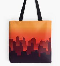 City Scape Tote Bag