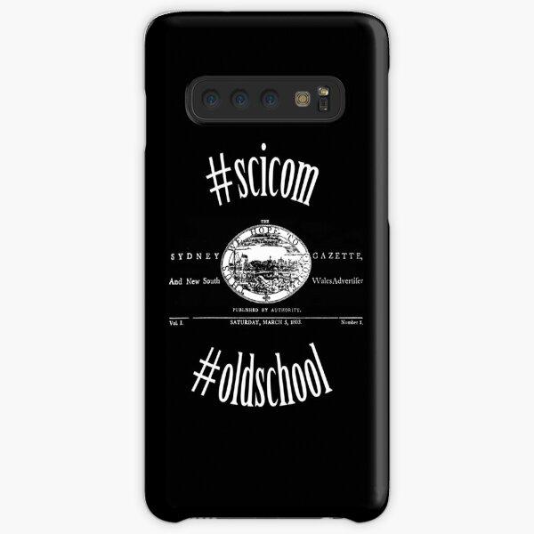Sydney Gazette #scicom #oldschool Samsung Galaxy Snap Case