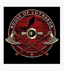 House of Lothbrok Photographic Print