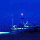 Blue night by Mikhail Lavrenov