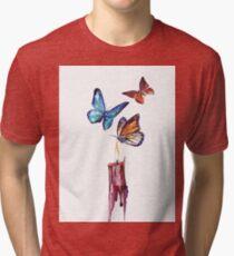 Born in fire Tri-blend T-Shirt