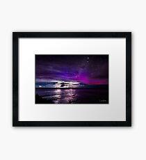 Aurora Struck!! Framed Print
