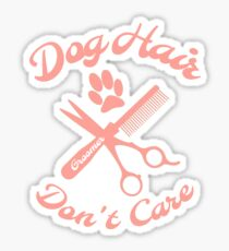 Dog Hair Groomer Sticker