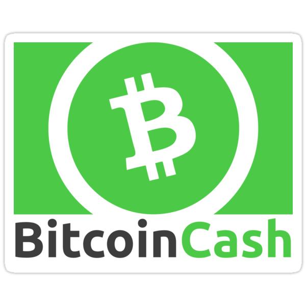 Bitcoin Cash Logo Sticker Von Theantnest