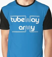 Tubeway Army 'blue' logo design Graphic T-Shirt