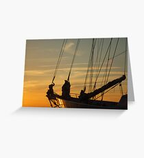 TallShip Greeting Card