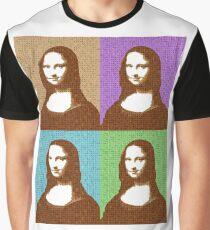Scrabble Mona Lisa x 4 Graphic T-Shirt