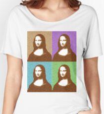 Scrabble Mona Lisa x 4 Women's Relaxed Fit T-Shirt