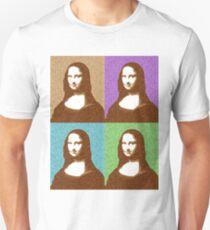 Scrabble Mona Lisa x 4 Unisex T-Shirt