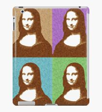 Scrabble Mona Lisa x 4 iPad Case/Skin