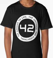 42 - The Ultimate Answer Long T-Shirt