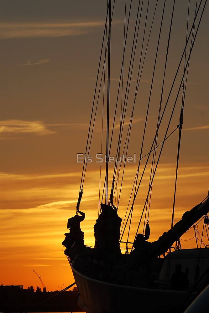 TallShip II by Els Steutel