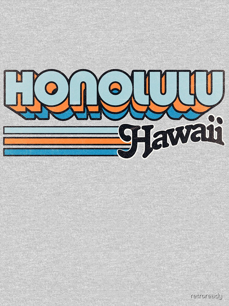 Honolulu, HI | City Stripes by retroready