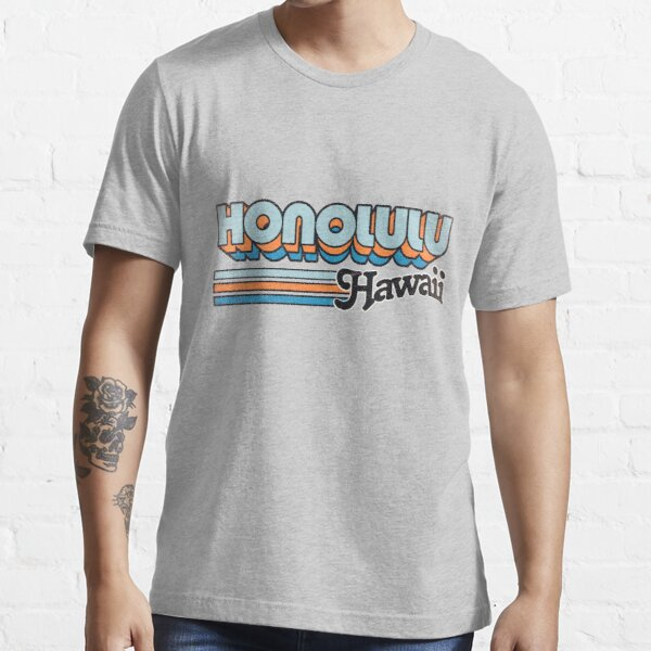 Honolulu, HI | City Stripes Essential T-Shirt