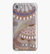 Interior View of the Blue Mosque (Sultan Ahmed Mosque), Istanbul iPhone Case/Skin