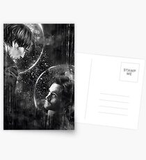 Call me across the universe Postcards