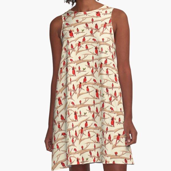 Cardinals A-Line Dress