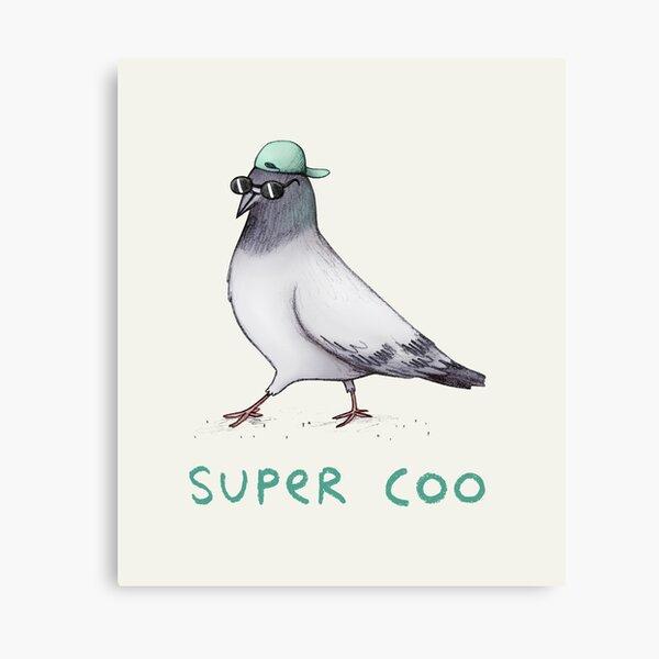 Super Coo Canvas Print