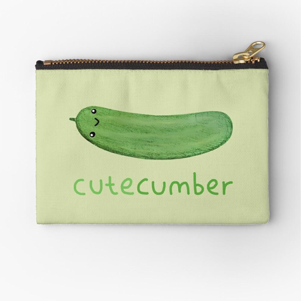 Cutecumber Zipper Pouch