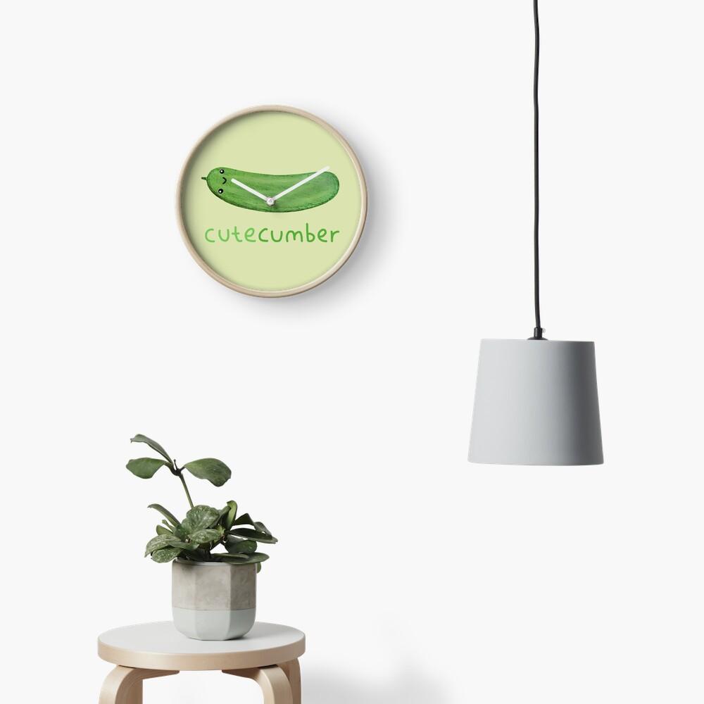 Cutecumber Clock