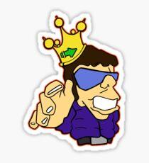 King Cool Sticker