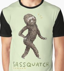 Sassquatch Graphic T-Shirt