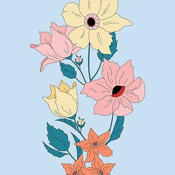 Flourish: First Bloom by LizWallflower
