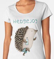 Hedgejog Premium Rundhals-Shirt