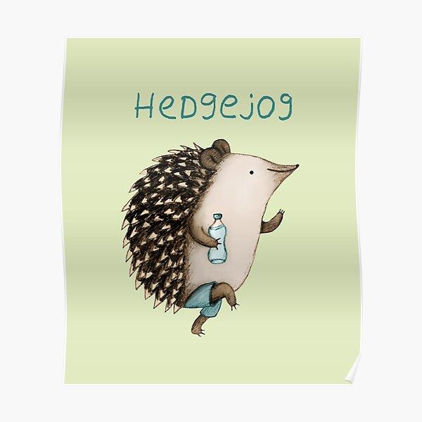 Hedgejog Poster