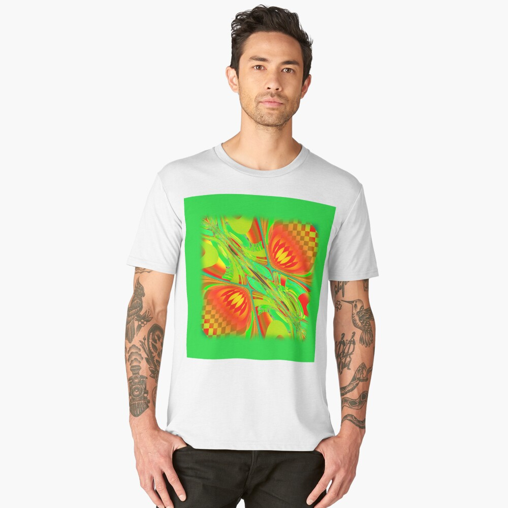 Abstract 0029 Men's Premium T-Shirt Front