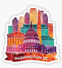 Washington D.C. 2 Sticker