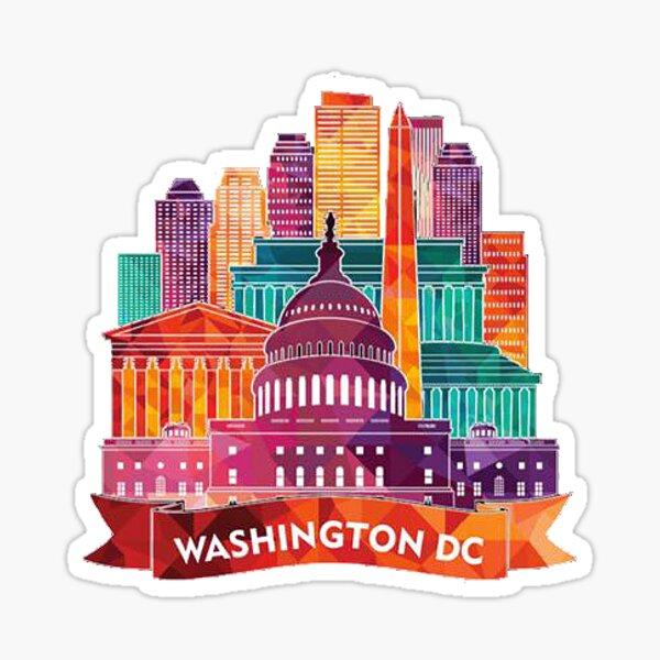 Washington D.C. 2 Sticker