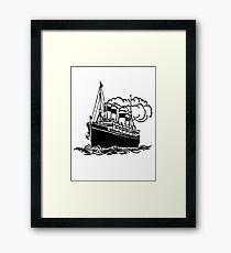 'Cruiser - ClipArt.' Framed Print