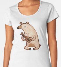 Ukulele Bear Women's Premium T-Shirt