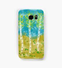 Birch Trees Samsung Galaxy Case/Skin