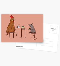Tea Party Postcards