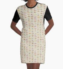 Lures Graphic T-Shirt Dress