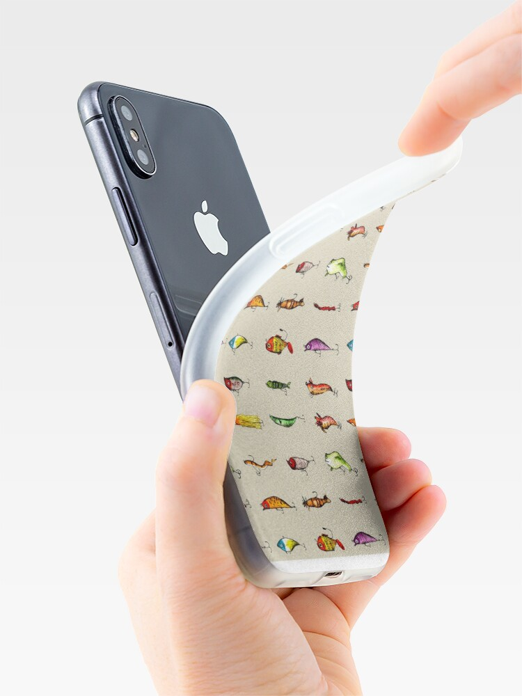 Alternate view of Lures iPhone Case & Cover