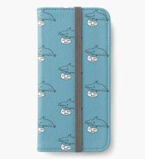 Haie sind nicht böse iPhone Flip-Case/Hülle/Klebefolie