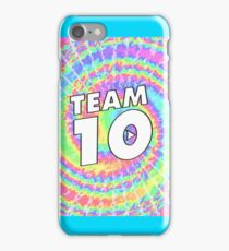 Jake Paul Team Ten Tie Dye iPhone Case/Skin