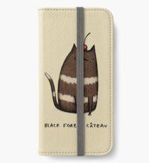 Black Forest Câteau iPhone Wallet/Case/Skin