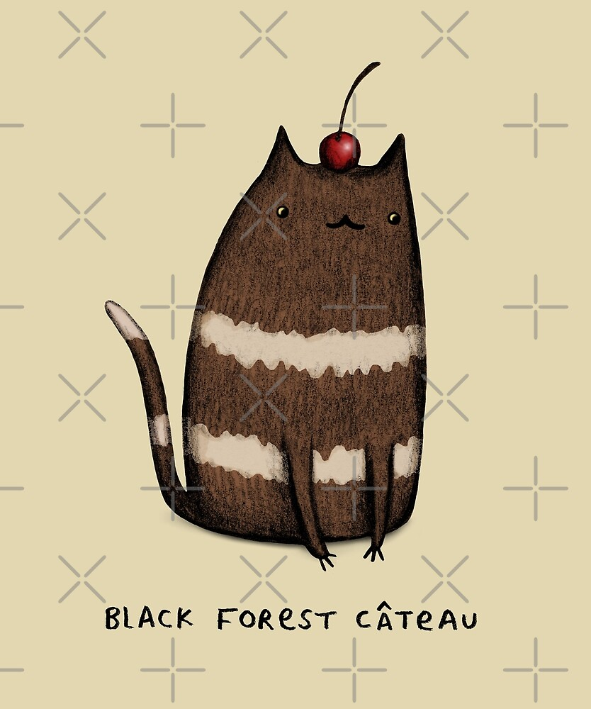 Black Forest Câteau by Sophie Corrigan