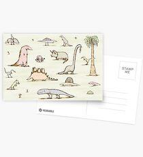 Postales Dinosaurios