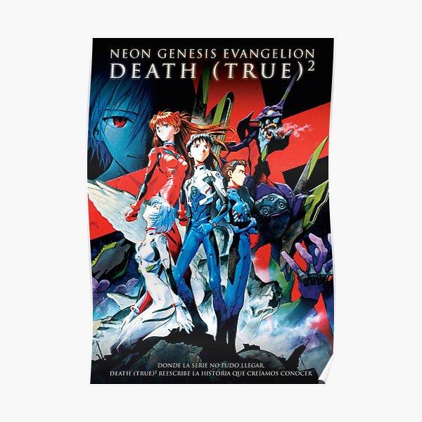 Mort et renaissance Evangelion Poster Poster