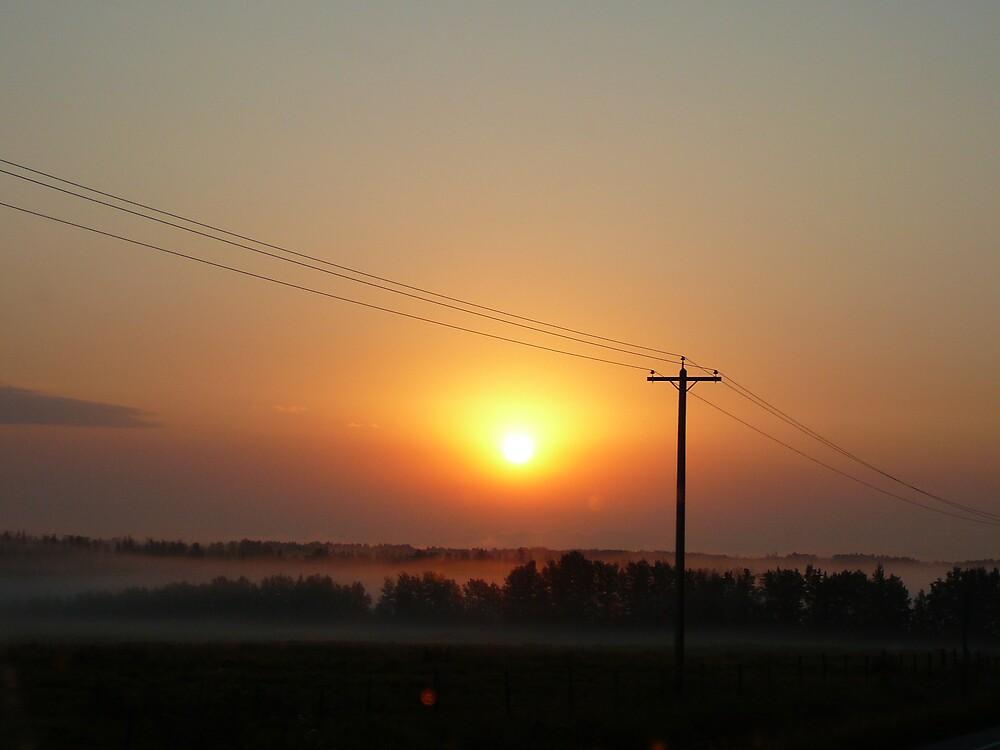 Sunrise by melinahunny